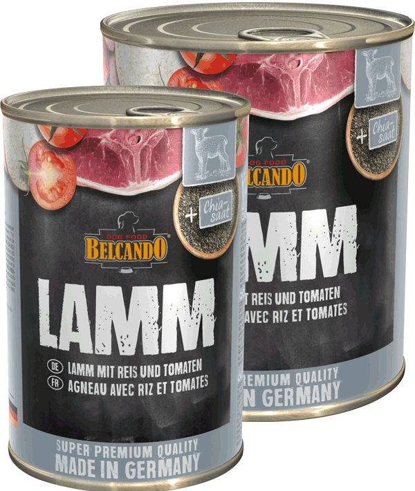 Belcando Lamm mit Reis & Tomaten
