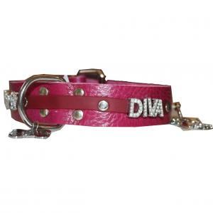 Lederhalsband DIVA