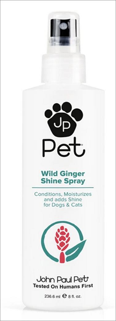 John Paul Pet Wild Ginger Shine Spray