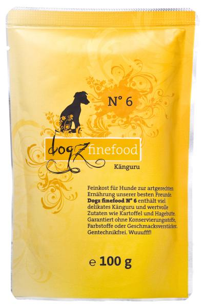 Dogz Finefood Känguru 100gr