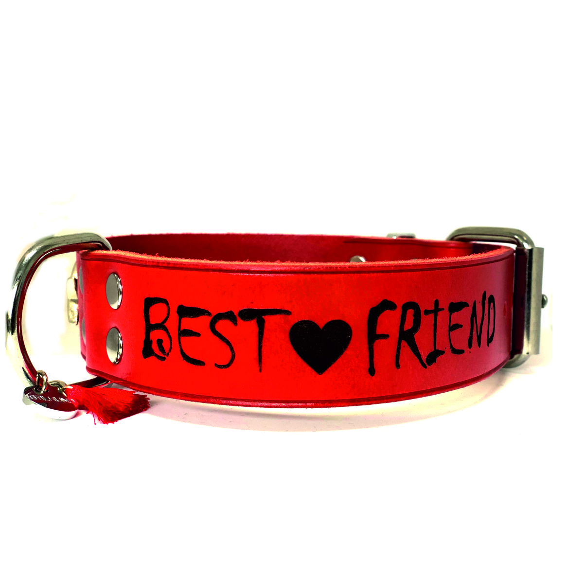 Lederhalsband Best Friend