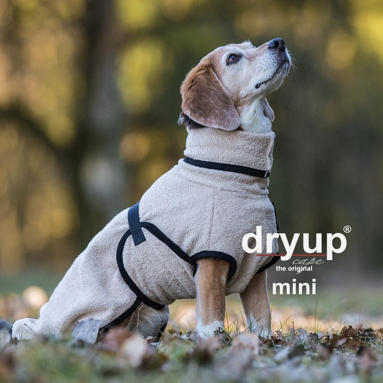 Hundebademantel Dryup Cape sand