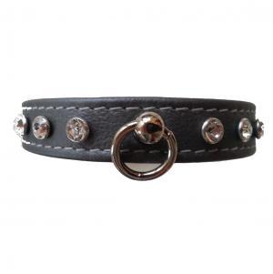 EINZELSTÜCK Halsband mit Swarovki Steinen