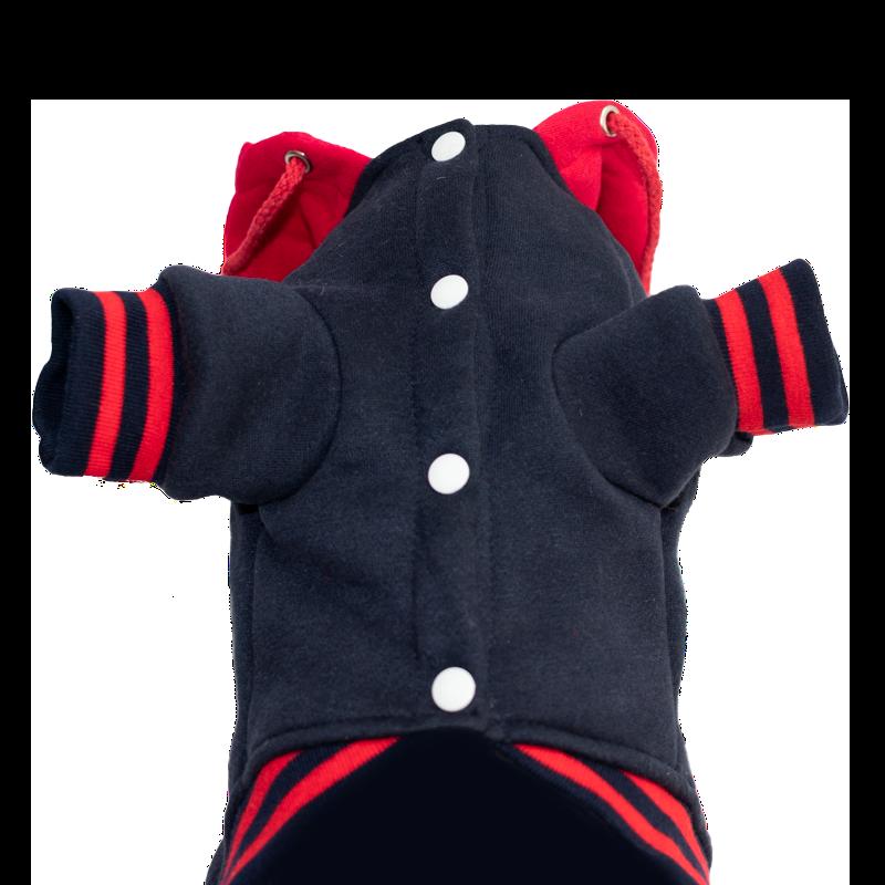 Hoodie Kangoo RED HEAD