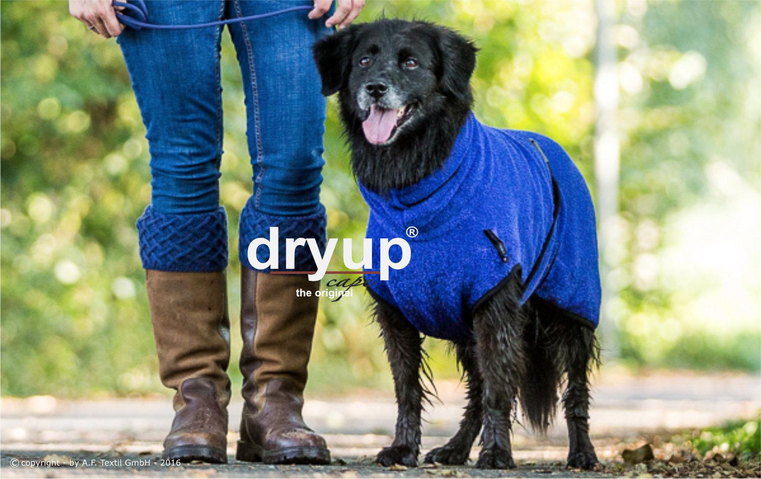Hundebademantel Dryup Cape blueberry