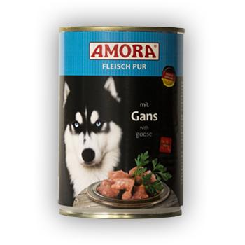Amora Fleisch Pur mit Gans 800g