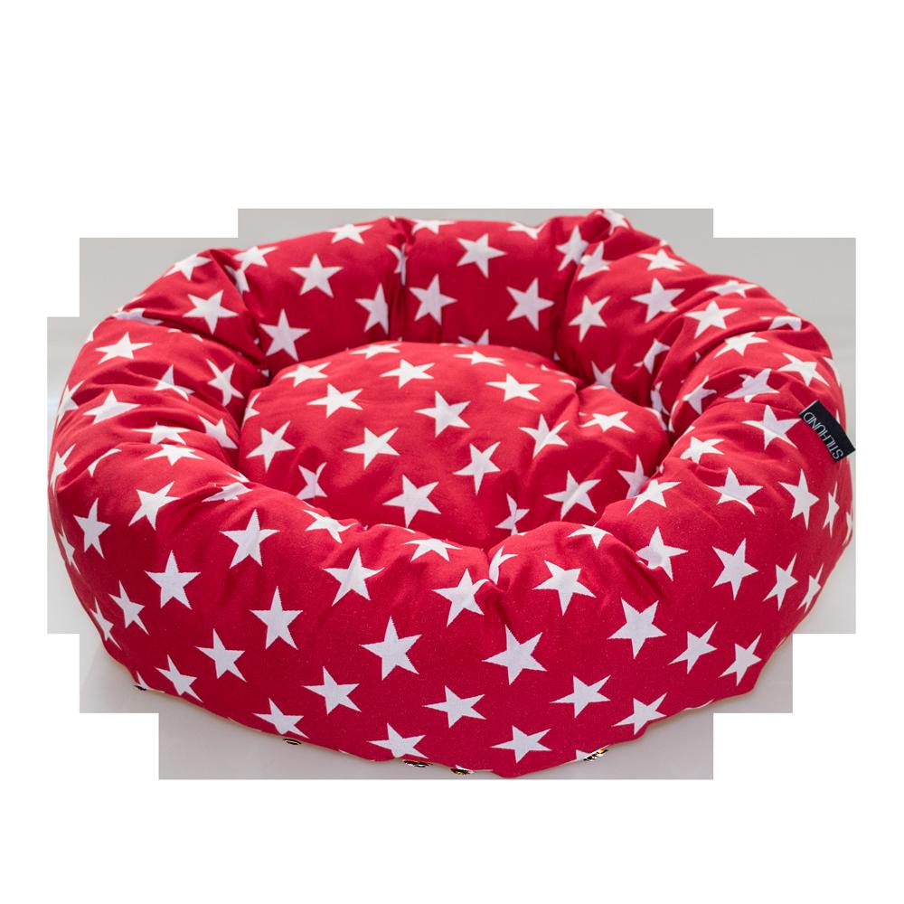 Donut Rot Sterne