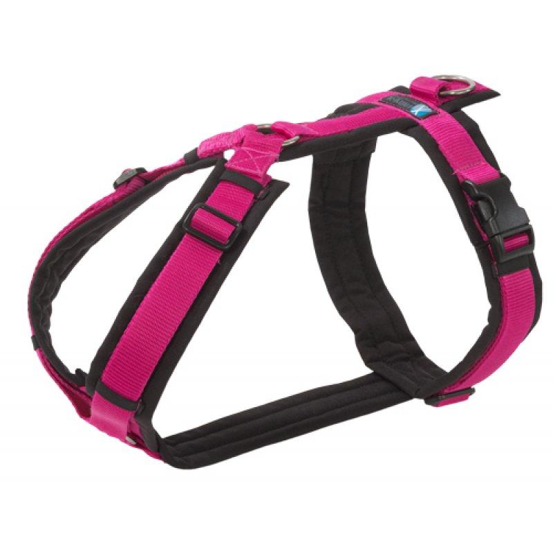 Hundegeschirr FUN pink | schwarz